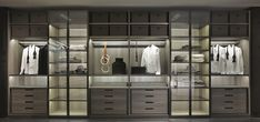 Poliform|Varenna _ Senzafine walk-in closet