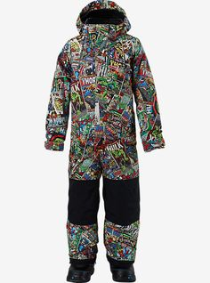 Shop the Marvel® x Burton Boys' Minishred Striker One Piece along with more Kids' One Piece Snow Suits from Winter 16 at Burton.com