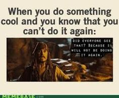 Daily Afternoon Randomness - Find the best random memes, photos and gifs to perk up your day each afternoon! Browse our random funny memes to Keep Calm and Chive On! Captain Jack Sparrow, Johnny Depp, Funny Movies, Pirates Of The Caribbean, Just For Laughs, The Funny, In This World, Funny Quotes, Funny Humor