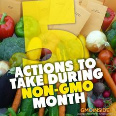 5 Actions To Take During Non-GMO Month! Read here: http://www.care2.com/greenliving/5-actions-to-take-during-non-gmo-month.html#ixzz2iR4iLIOK