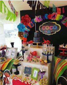 101 fiestas: ideas para una fiesta de Coco