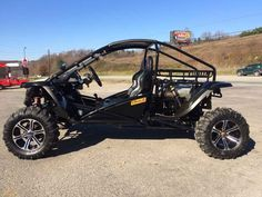 Used 2013 Renli RL1100 BULL ATVs For Sale in Pennsylvania. The Renli RL1100 Bull is an incredible vehicle. This unit only has 691 miles! Manufactured by Renli it uses a ford 1100cc overhead cam engine, with a 5 speed manual transmission. This unit is built extremely tough with heavy duty locking front and rear differentials. Tube frame chassis is built to handle the most extreme riding conditions. It comes factory equipped with an Elka racing coilover suspension system. This vehicle rides…