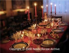 Finnish Christmas traditions with link to Finnish Christmas Recipes