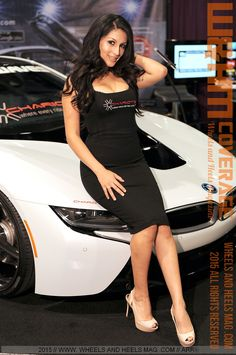 Wheels And Heels Magazine / W&HM: Gorgeous W&HM Feature Model Crystal Mendez for Chariotz at SEMA 2015