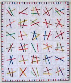 """Karen Griska Quilts: modern quilt pattern """"Fine Lines"""""""