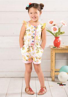 6bf8ee5a0009 Jumpsuits and Rompers 175528  Matilda Jane Let S Make Lemonade Romper 6 New  Nwot The