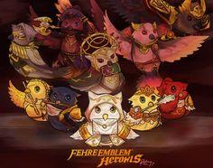 I drew Fire Emblem: Hero Owls!! : FireEmblemHeroes: I approve