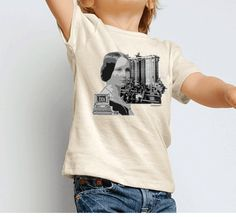 Children's Ada Lovelace Graphic Tee by SmartyWomyn on Etsy