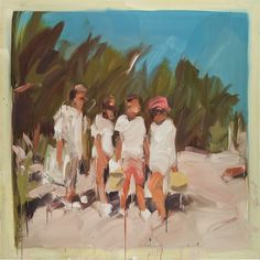 View Untitled by Laura Lancaster sold at Century & Contemporary Art Day Sale on London Auction 5 October Learn more about the piece and artist, and its final selling price Art Day, Sale Artwork, Painting People, Figure Painting, Painting, Panel Art, Art, Portrait Painting, Canvas Art
