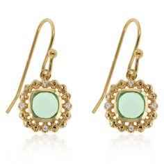 Aqua Vanity Earrings
