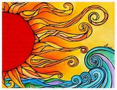 Image result for Sun Mexican Folk Art Patterns