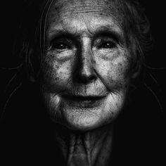 black and white portrait#