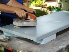 This is one of the better tutorials that I have seen . . . . . . . . . . . . . . . . . . . . . . . . . . . . . Concrete Countertop For a Workbench | how-tos | DIY