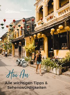Hoi An in Vietnam – Sehenswürdigkeiten Vietnam Vacation, Vietnam Travel, Asia Travel, Japan Travel, Hoi An, Vietnam Tour, Saigon Vietnam, Trinidad, Cuba