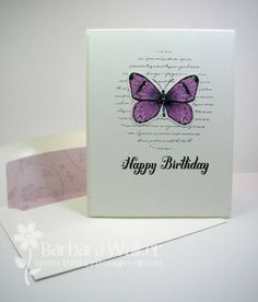 The Buzz: Happy Birthday Butterflies