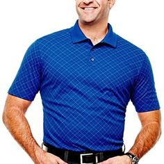 The Foundry Supply Co.™ Quick Dry Golf Polo-Big & Tall - jcpenney