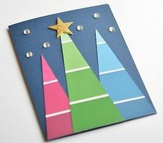 Easy Diy Christmas Cards - 49 simple diy christmas cards ideas home remodelling handmade christmas card from my card attic white with easy diy christmas card ideas you ll want to send this happy littl Simple Christmas Cards, Christmas Card Crafts, Homemade Christmas Cards, Christmas Cards To Make, Christmas Photo Cards, Xmas Cards, Handmade Christmas, Art Watercolor, Diy Weihnachten