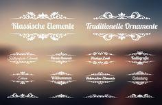 Ornamente & Verzierungen