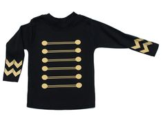 Jimi Rock Cool Baby Top | Military Baby Top | Rock Baby Clothes