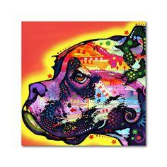 Dean Russo 'Profile Boxer' Metal Art