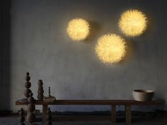 Anemone wall lamp by Olivia D'Aboville