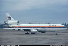 United Airlines McDonnell Douglas DC-10-10
