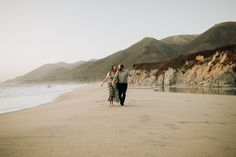 Big Sur Beach engagement photography session! Totally beautiful couple full of fun and adventure. Best day ever! Beach Elopement, Beach Engagement, Engagement Session, Big Sur California, California Wedding, Big Sur Beach, Best Day Ever, Beautiful Couple, Engagement Photography