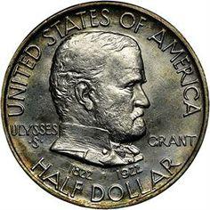 Silver Commemoratives - 1922 GRANT 50C MS