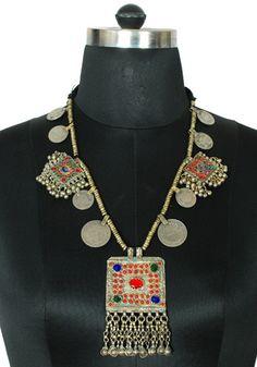 Antique Afghan Necklace Design 2