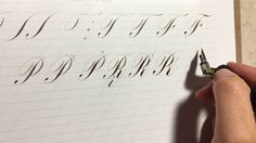 Calligraphy Video, Letter Art, Flourish, Craft, Videos, Youtube, Etsy, Design, Penmanship