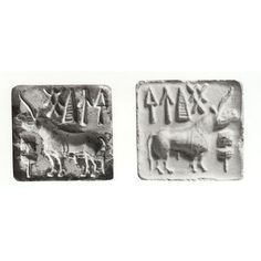 Seal, Place of origin: Mohenjo Daro (made) Date: ca. Middle East Culture, Harappan, Mohenjo Daro, Indus Valley Civilization, Pictogram, Mythical Creatures, Mythology, Seal, Museum