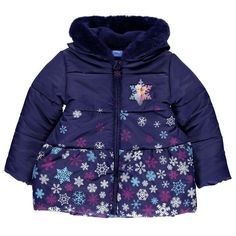 Girls Disney Frozen Padded Coat - Novelty-Characters - 1