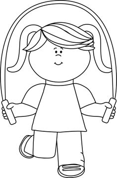 Use the form below to delete this Jump Rope Clip Art Black