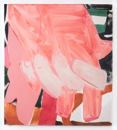 """confront:  """" Sarah Faux, Neither Yes Nor No, 2014  Oil on canvas.  """""""