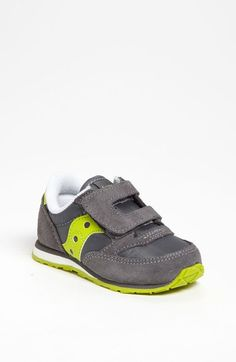 Saucony 'Jazz' Hook & Loop Sneaker (Baby, Walker & Toddler) available at #Nordstrom