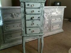 Jewelry Cabinet Makeover