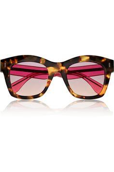 205b2ed158f Fendi - Two-tone D-frame acetate sunglasses