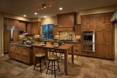 Horizons Dorado - traditional - kitchen - Portland - DeWils Custom Cabinetry