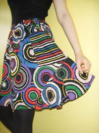 how to turn an old dress into a skirt