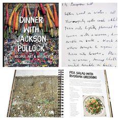 Este #finde te sugerimos saborear una de las recetas de #cocina de #JacksonPollock que encontrarás en #LibreríaMPM.