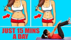 5 Simple Exercises to Reduce Belly Fat At Home Lifting Workouts, Fat Burning Workout, Easy Workouts, Bike Workouts, Reduce Belly Fat, Lose Belly Fat, Help Losing Weight, How To Lose Weight Fast, Cheek Fat