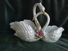 Hey, I found this really awesome Etsy listing at https://www.etsy.com/listing/270673050/vintage-capodimont-porcelain-planter-two