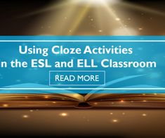 What are Cloze Activities? Why Use Cloze Activities? How to Create Close Activities Cloze Activities on BusyTeacher