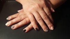 Semilac: frappe, diamond black
