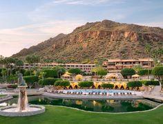 The Phoenician Hotel in Phoenix Arizona