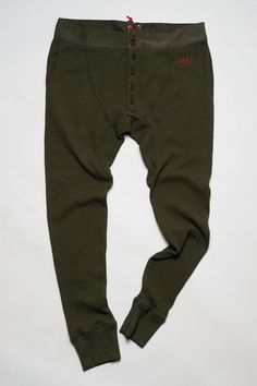 Long Johns Olive by Howes & Baum