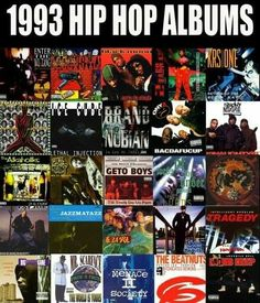 My absolute favorite year for HIP HOP