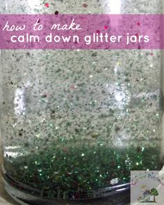Creative Playhouse: Calm Down Glitter Jars . good for kids with emotional issues. Links to emotional thermometer from YCDI Mental Health Activities, Health Literacy, Sensory Activities, Therapy Activities, Toddler Activities, Play Therapy, Therapy Ideas, Sensory Play, Social Work