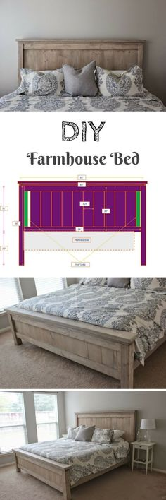Decor DIY Images DIY farmhouse bed frame frame Purchasing A Freezer For Your Home Ar Home Bedroom, Bedroom Furniture, Diy Furniture, Bedroom Decor, Bedroom Ideas, Furniture Plans, Bedding Decor, Budget Bedroom, Furniture Removal
