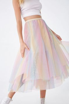Forever 21 is the authority on fashion & the go-to retailer for the latest trends, styles & the hottest deals. Shop dresses, tops, tees, leggings & more! Womens Maxi Skirts, New Outfits, Forever 21, Shop Forever, Latest Trends, Tulle, Girls Dresses, Ballet Skirt, My Style